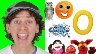 Letter O | Today's Letter Song with Matt and Friends | Preschool, Kindergarten, Learn English
