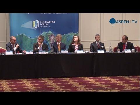 """Financing the Non Eurozone Economies in an Era of Uncertainties"" at Bucharest Forum 2016"