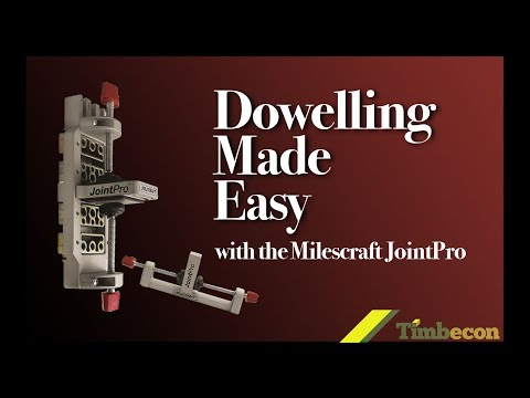 Dowelling Made Easy with the Milescraft JointPro