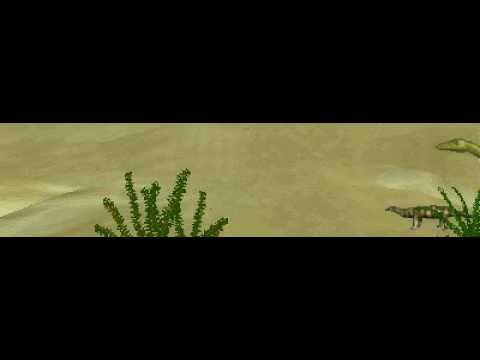 Dinosaur Safari (Late Jurassic) Clip #10: Compsognathus