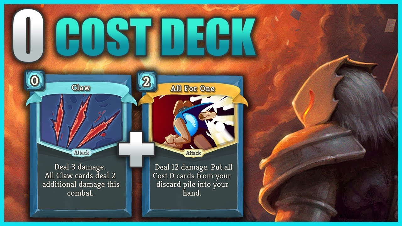 Slay the Spire - 0 Cost Defect Deck! (All For One OP ...