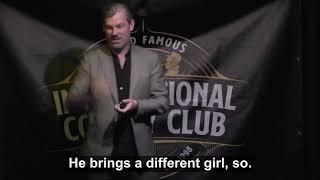 Aidan Bishop @ The International Comedy Club Dublin, Ireland