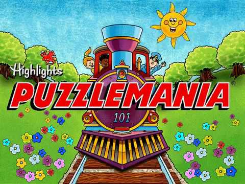 Highlights Puzzlemania (PC Game) - Longplay, 100 Puzzles
