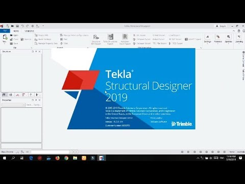 How To Install  Tekla Structural Designer 2019 V19.0