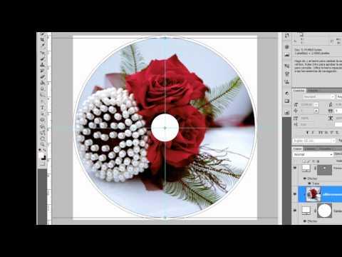 Diseño DVD o CD Photoshop Cs5