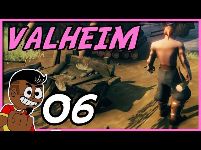 ESQUELETOS E A FLORESTA NEGRA #006- Valheim PT BR - Tonny Gamer
