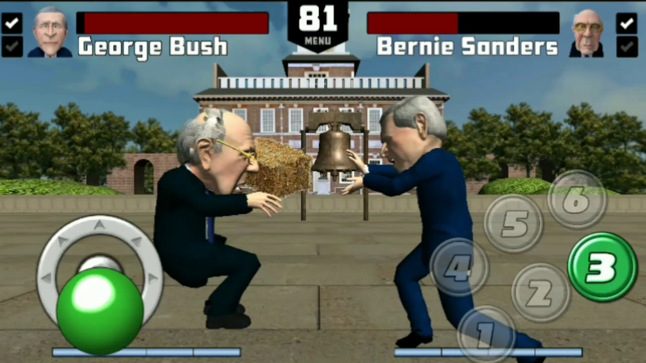 george bush beats mike pence blood of patriots 2018 android