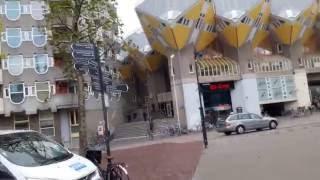 Необычная архитектура Роттердама 2(Продолжаем гулять по Роттердаму и осматривать достопримечательности., 2016-11-03T22:08:05.000Z)