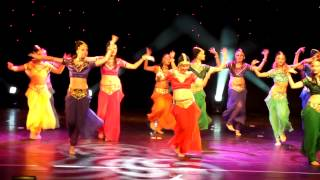 Indian dance-Show ballet Magic