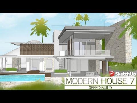 Tiny house on wheels design using sketchup funnydog tv for Modern house design sketchup