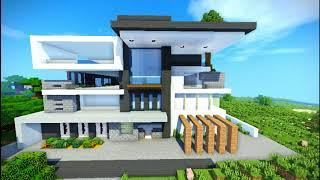 Minecraft Modern House 2 1 15 2 YouTube