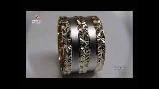 литые свадебные кольца, обручальные кольца из израиля