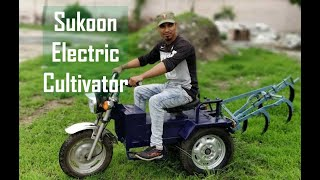 Sukoon Electric Tractor and Cultivator | PlugInCaroo