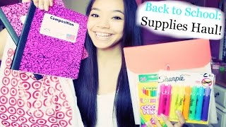 Back to School Supplies Haul! 2014 Thumbnail