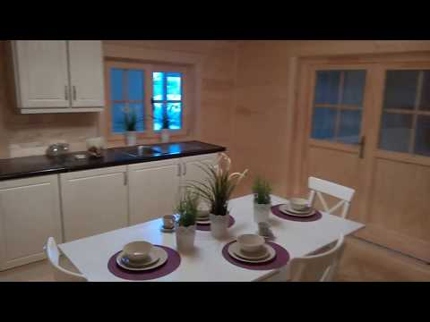 Tullow 3 Bed Log Cabin from TimberLiving