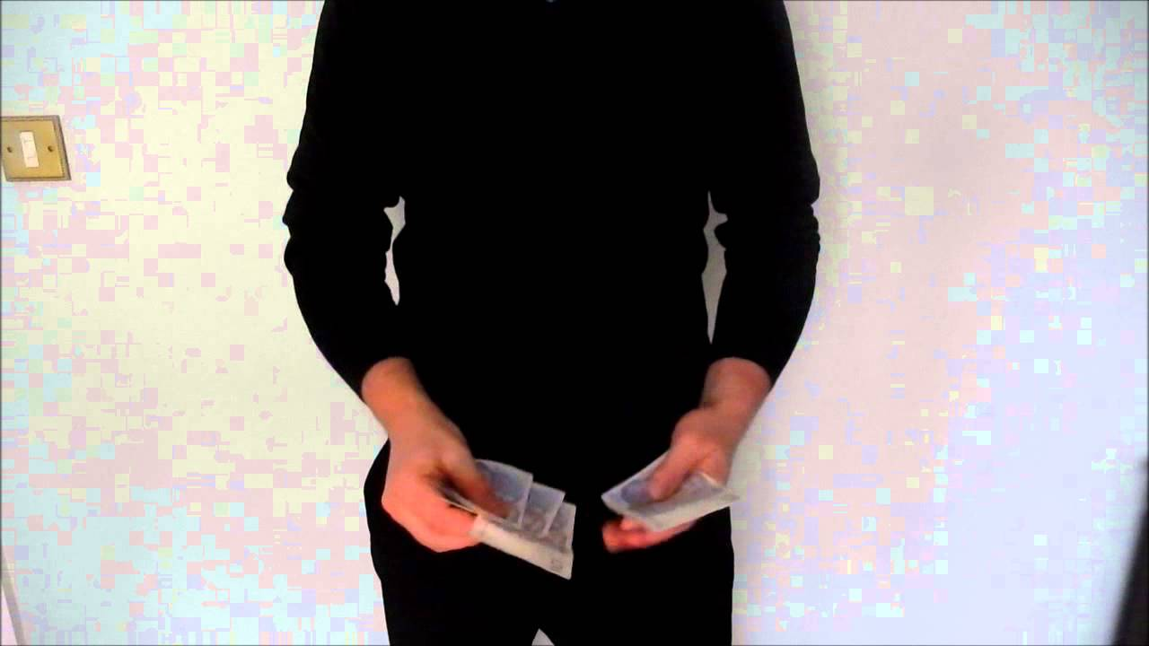Money Magic - Burn Presentation Idea