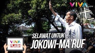 Selawat untuk Jokowi dan Maruf Amin di Gedung Joang 45