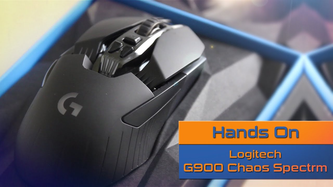 Logitech G900 Chaos Spectrum Pb Tech Hands On Review 910 004609