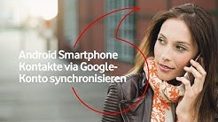 Android Smartphone – Kontakte via Google-Konto synchronisieren  | #mobilfunkhilfe