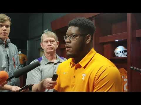 Trey Smith - Vols OL (Tue - Alabama week)