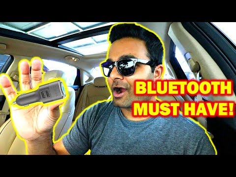BEST Bluetooth Adapter For Your Vehicle!! (PLUG and PLAY)