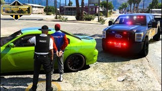 Boxed In By SHERIFF!! PERFECT Timing - GTA 5 FiveM WPRP