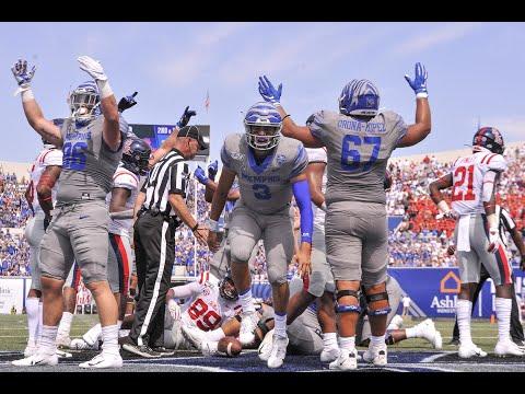 2019 American Football Highlights - Memphis Vs Ole Miss