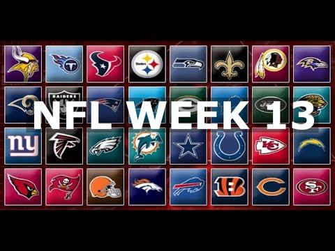 NFL Week 13 Picks & Predictions 2019   2020