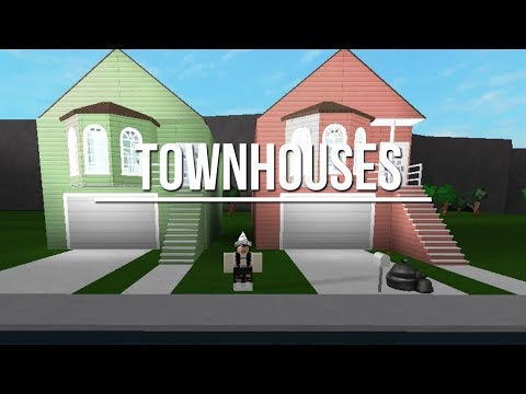 ROBLOX | Welcome to Bloxburg: Townhouses 65k