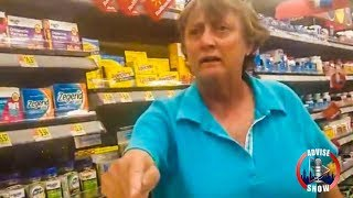 Caucasian Female Racially Degrade Latina & Black Woman After Being Asked Politely To Move Cart