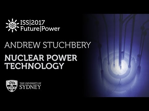 Nuclear Power Technology — Prof. Andrew Stuchbery