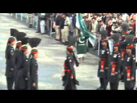 Wagah Border - Flag Lowering Ceremony, Lahore