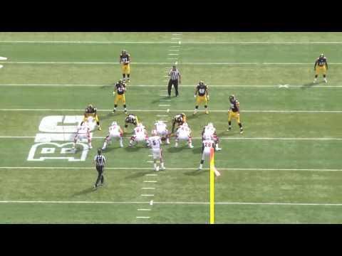 Miami Football Coach Martin - Offensive Play breakdown vs Iowa