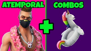 TIMELESS SKIN SUMMER TOP 10 BEST SKINS COMBOS FORTNITE SEASON 9 SKINS AND BACKPACKS COMBOS