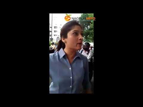 Couple misbehaving with Nagpurpolice