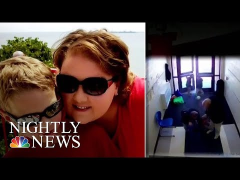 Video Appears To Show Student With Autism Dragged By Teacher | NBC Nightly News