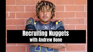 Alabama Crimson Tide Football recruiting with Andrew Bone