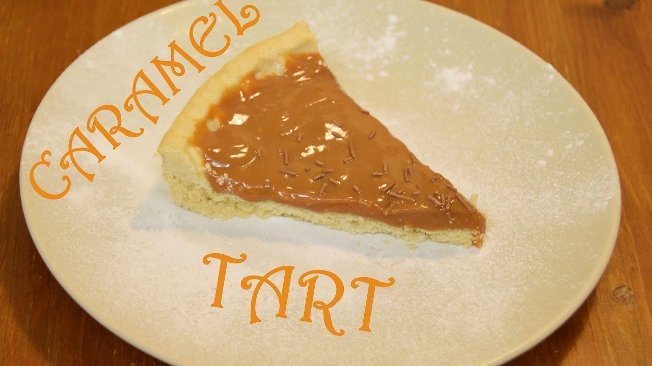 Caramel Tart Dessert Old School Dinner Pudding Hot Plate Youtube