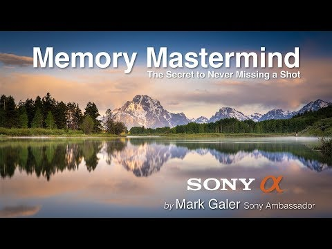 Sony Alpha Memory Mastermind  - Secrets To Never Missing A Shot