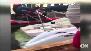 D C  police boat crashes into boat in Georgetown   YouTube 720p