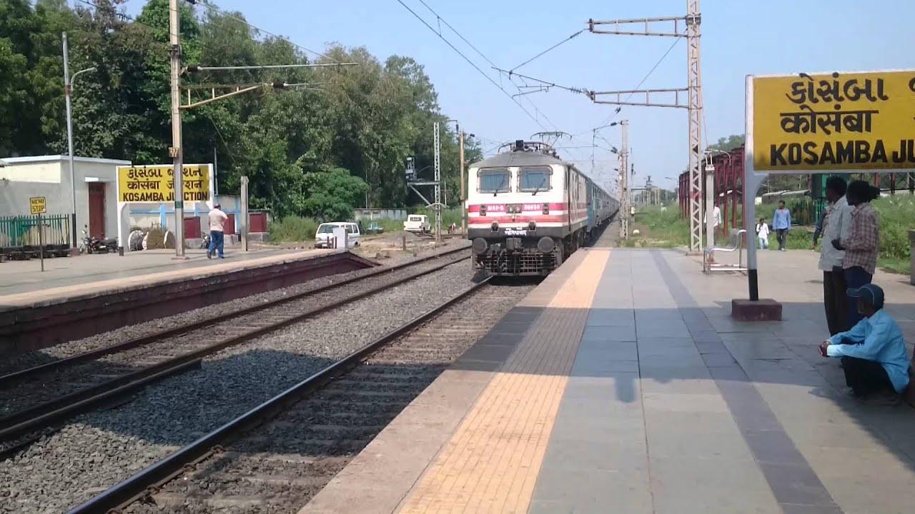 19024 Firozpur-Mumbai Central Janta Express by IR-MSTS CUSTOMS