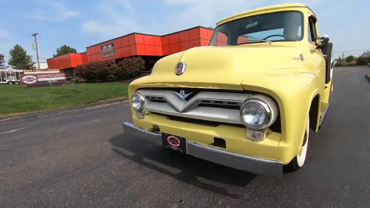 1955 Ford F 100 For Sale