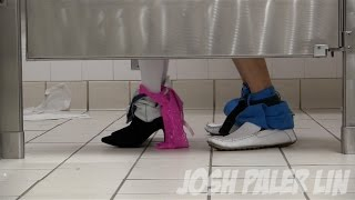 One of JoshPalerLin's most viewed videos: Sex In The Bathroom Prank!
