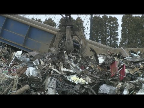 Recycling scrap metal in New Castle is high-tech business