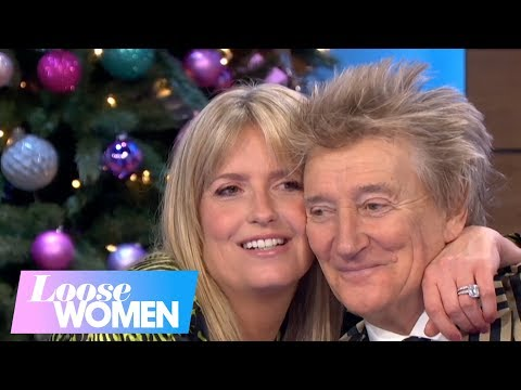 Big 95 Morning Show - Rod Stewart's wife gets his age wrong on TV show