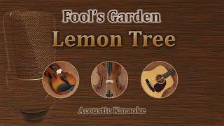Lemon Tree - Fool's Garden (Acoustic Karaoke)