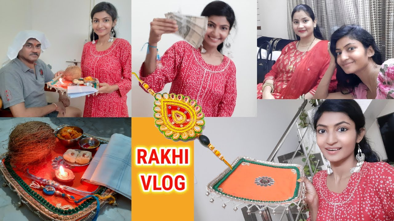 Rakhi Celebration VLOG || I got surprises !! Its makeover tym