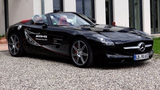 Mercedes-Benz SLS AMG Roadster 2012 Videos