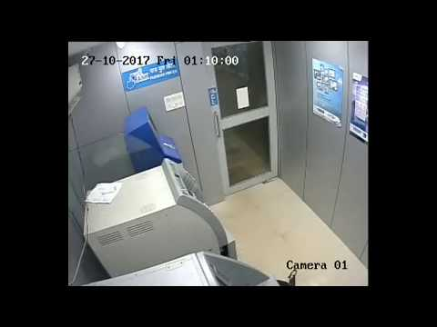 Robbery at Bank Of Maharashtra ATM Panjim Branch