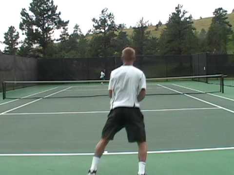 Stan Vaughan Tennis Video